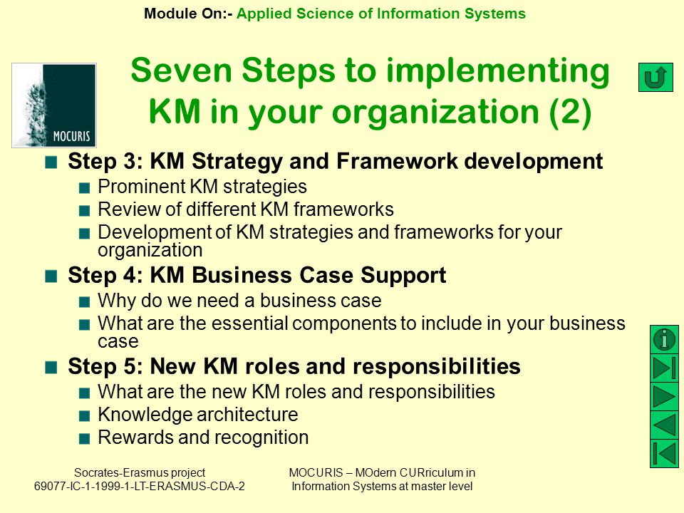 Seven Steps to implementing KM in your organization (2)