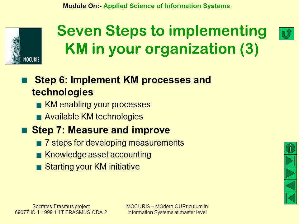 Seven Steps to implementing KM in your organization (3)