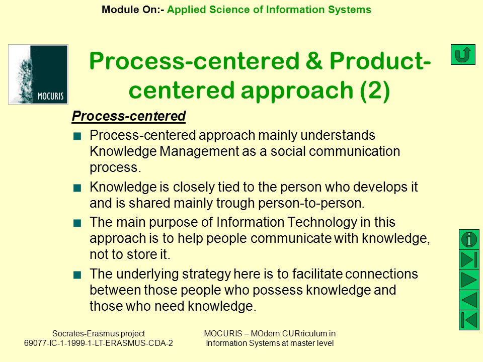 Process-centered & Product-centered approach (2)