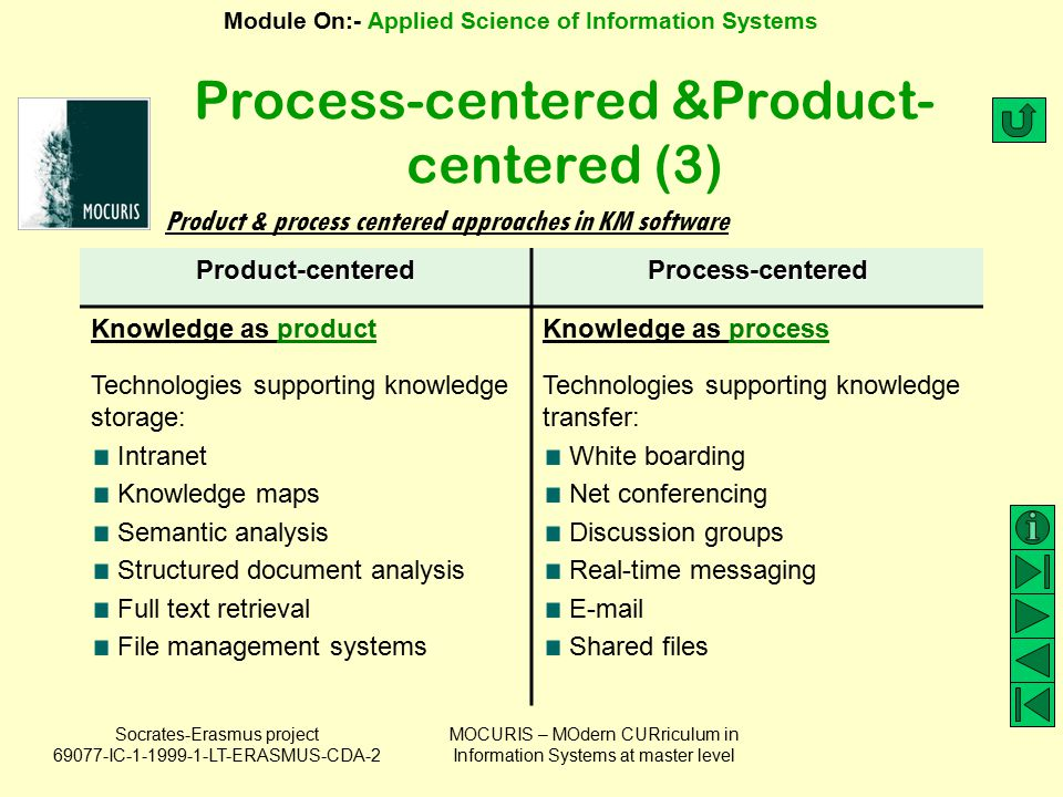 Process-centered &Product-centered (3)