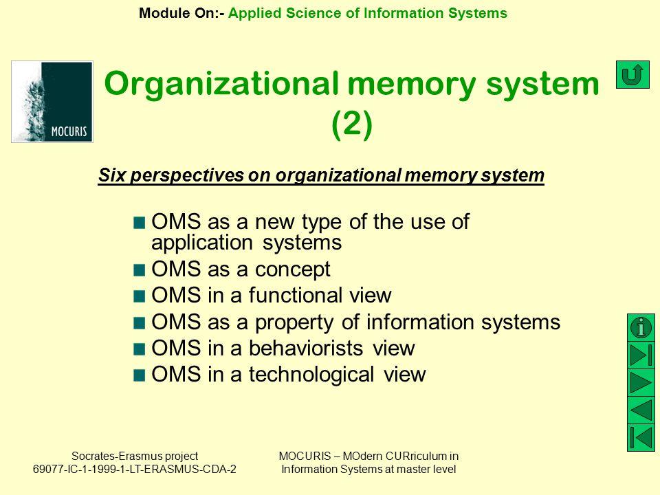 Organizational memory system (2)