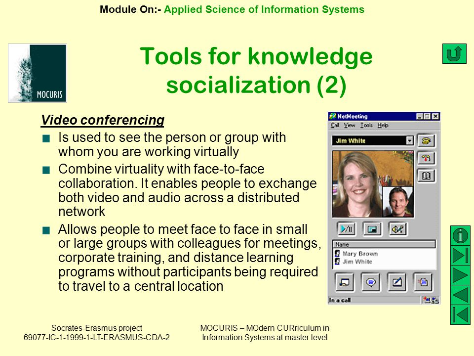 Tools for knowledge socialization (2)