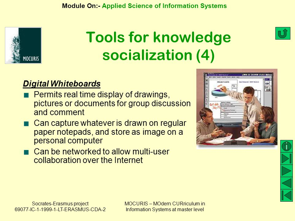 Tools for knowledge socialization (4)