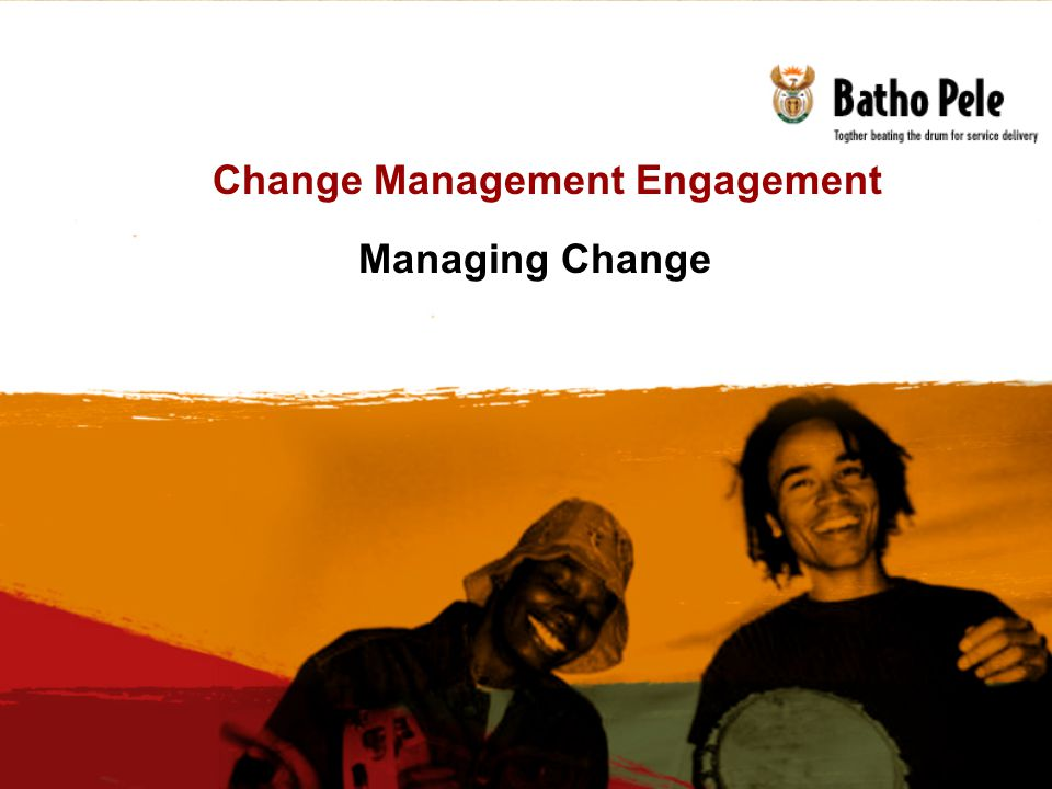 Change Management Engagement