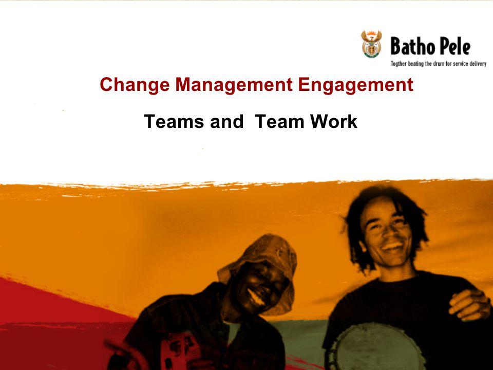 Change Management Engagement