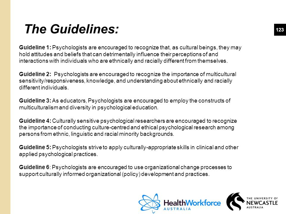 The Guidelines: