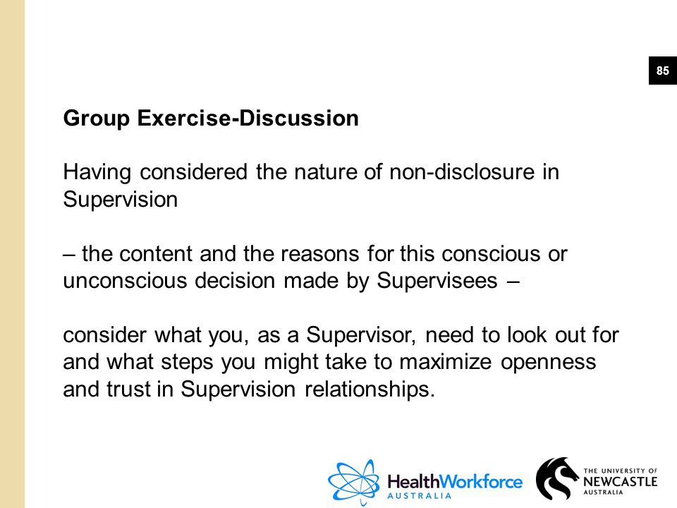 Group Exercise-Discussion