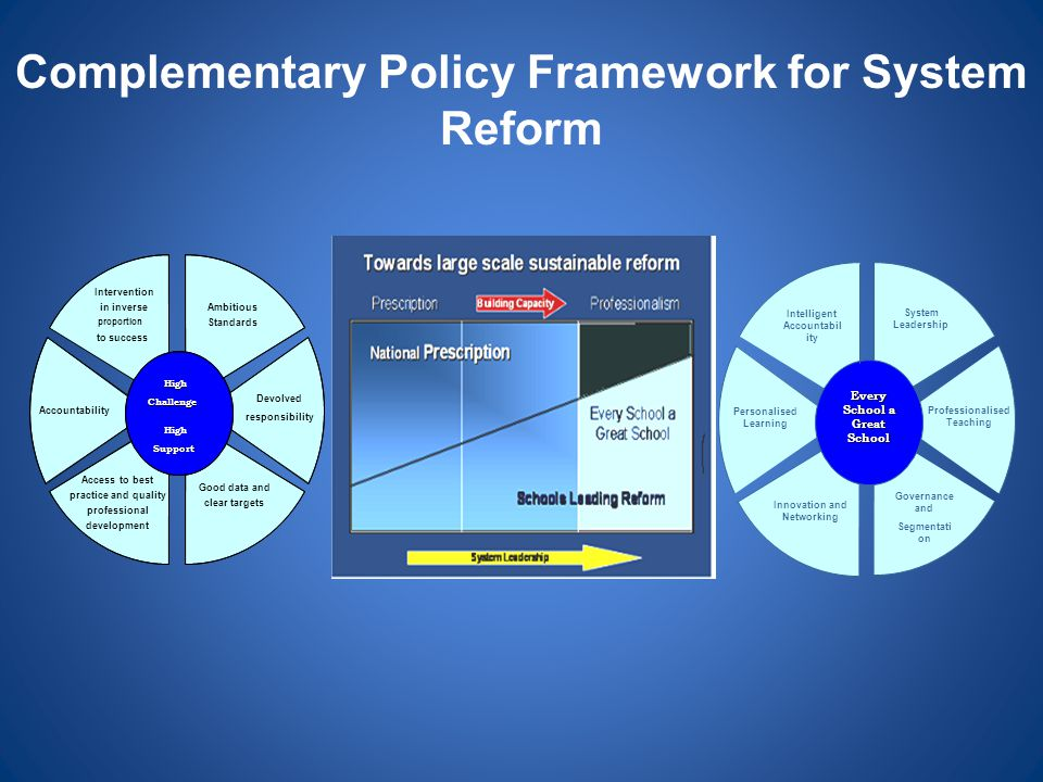 Complementary Policy Framework for System Reform