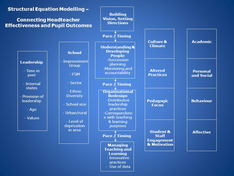 Structural Equation Modelling –