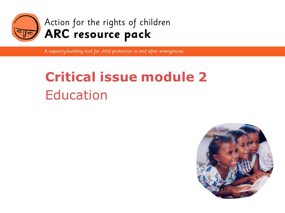 Critical issue module 2 Education