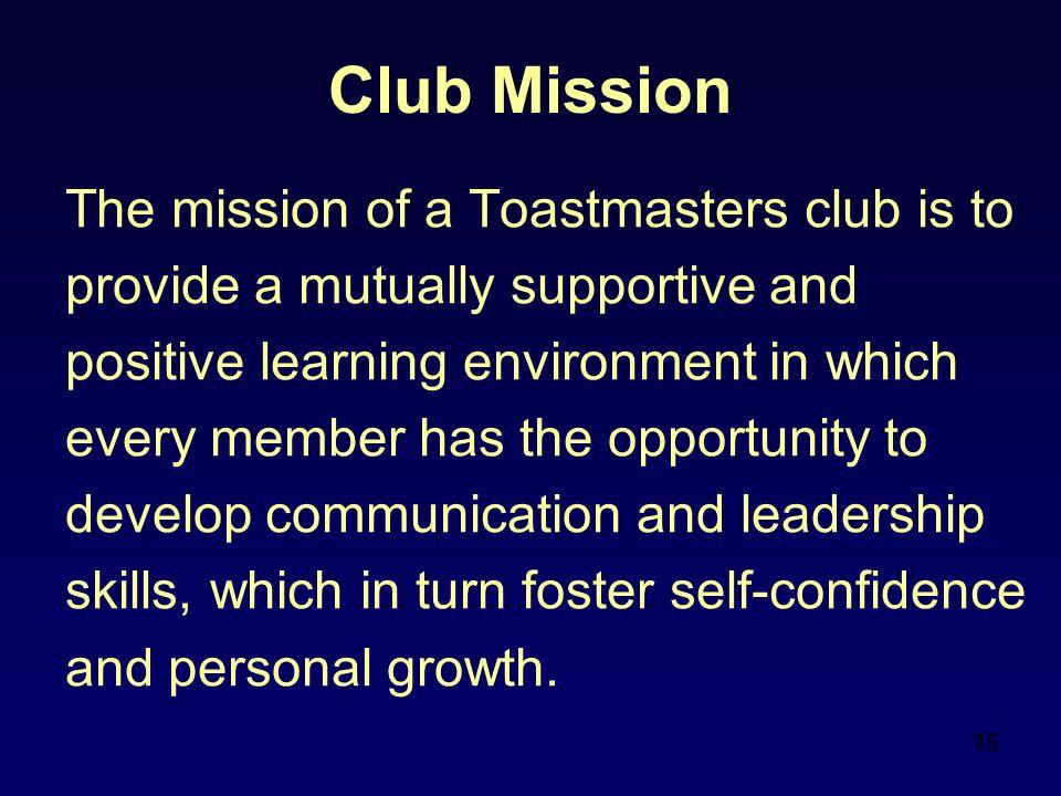 Club Mission