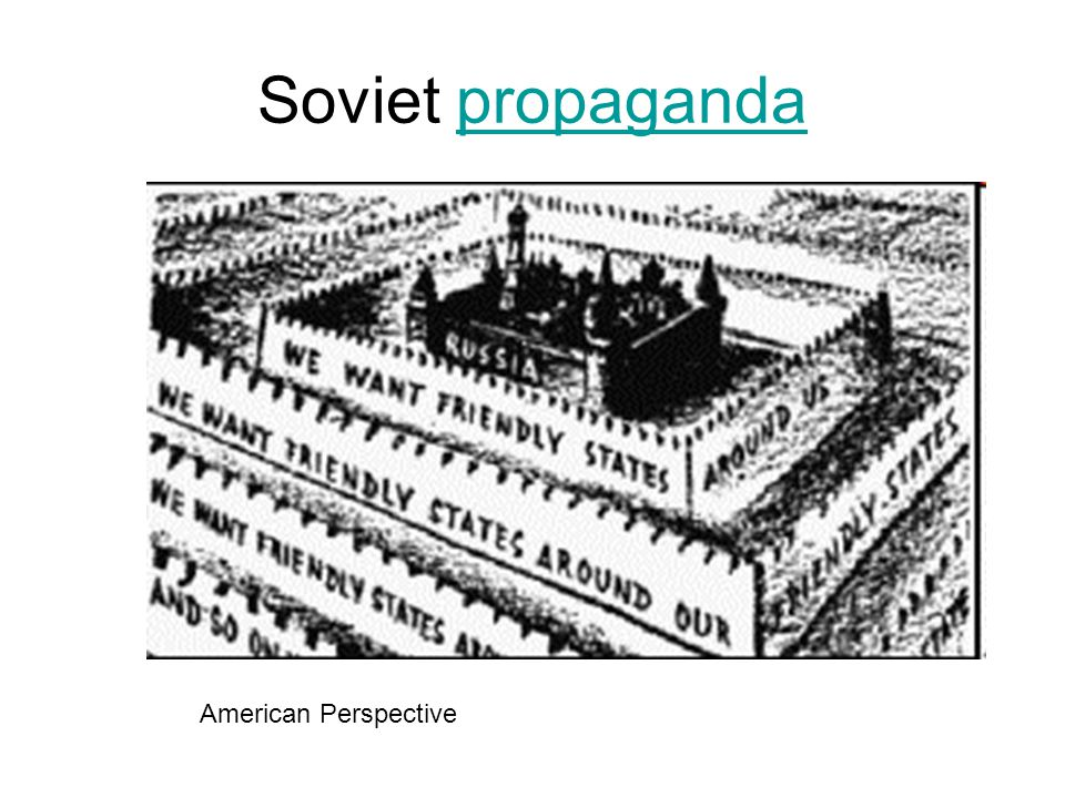 Soviet propaganda American Perspective