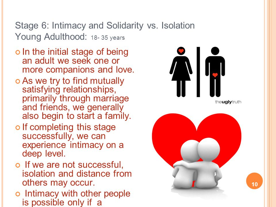 Stage 6: Intimacy and Solidarity vs