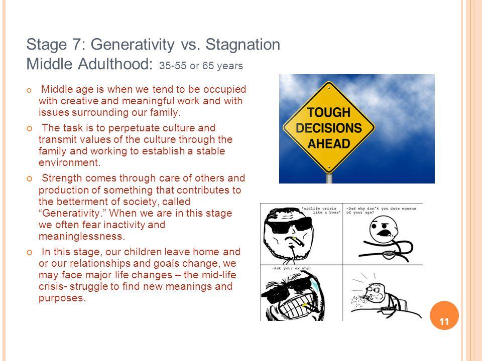 Stage 7: Generativity vs