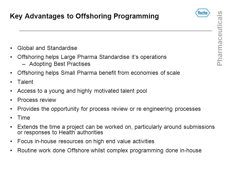 Key Advantages to Offshoring Programming