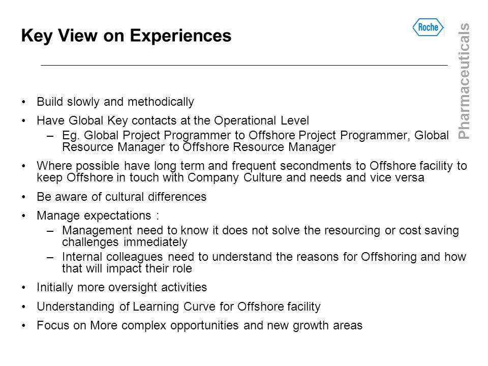 Key View on Experiences