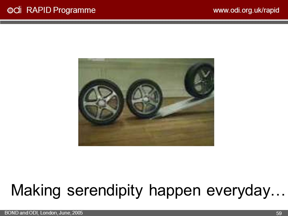 Making serendipity happen everyday…