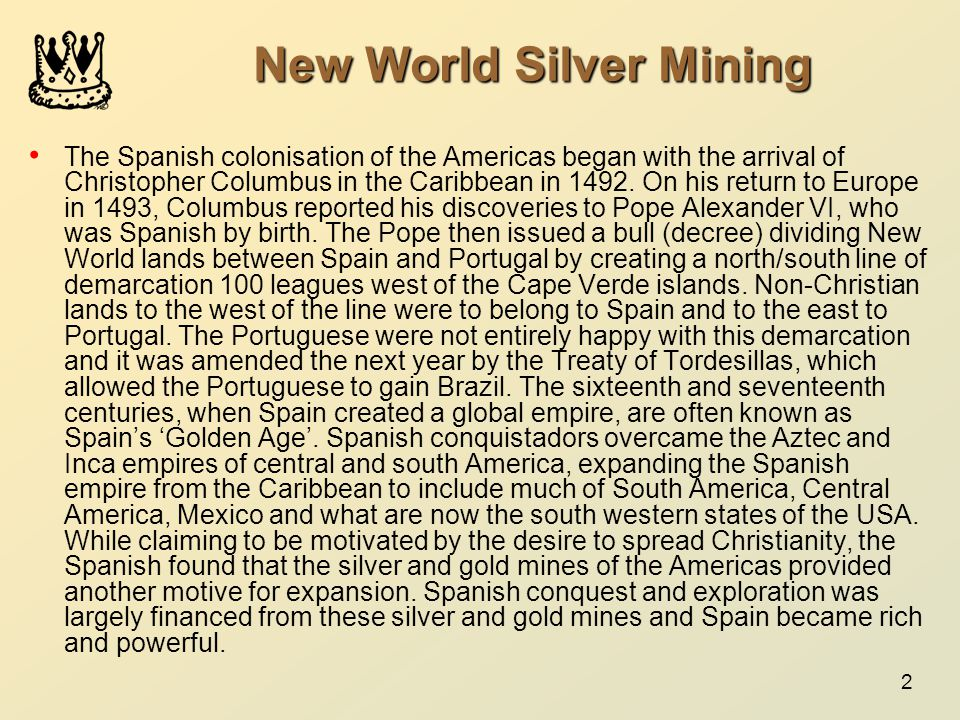 New World Silver Mining