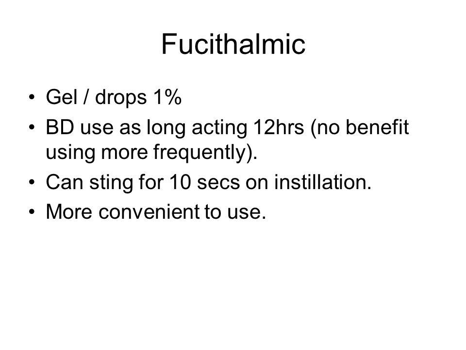 Fucithalmic Gel / drops 1%
