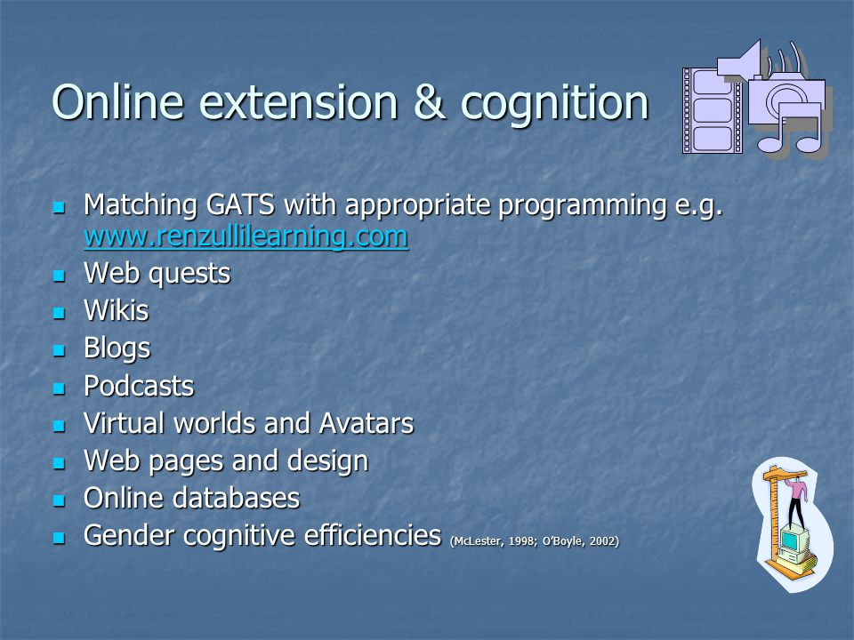 Online extension & cognition