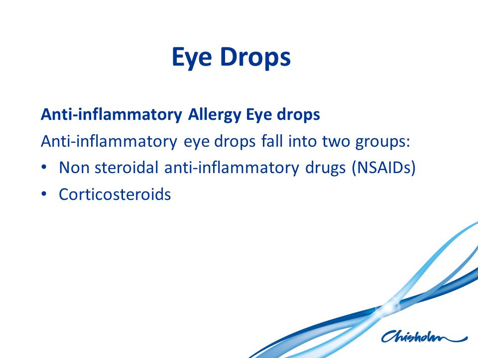 Eye Drops Anti-inflammatory Allergy Eye drops