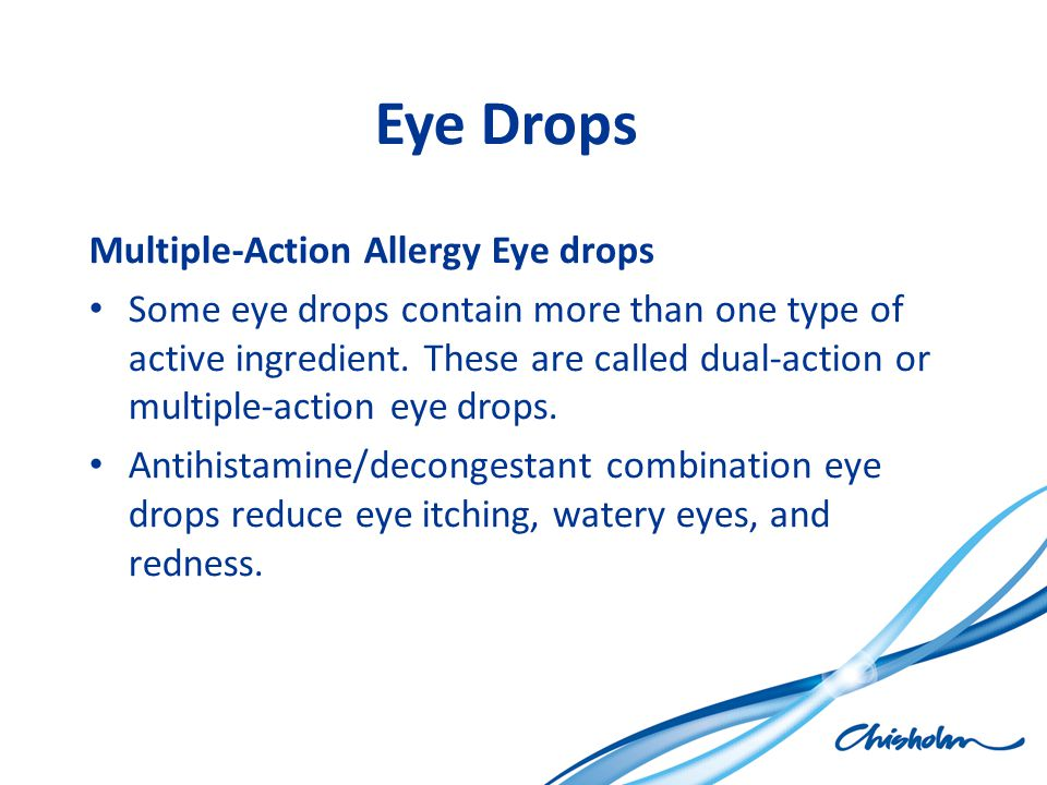 Eye Drops Multiple-Action Allergy Eye drops