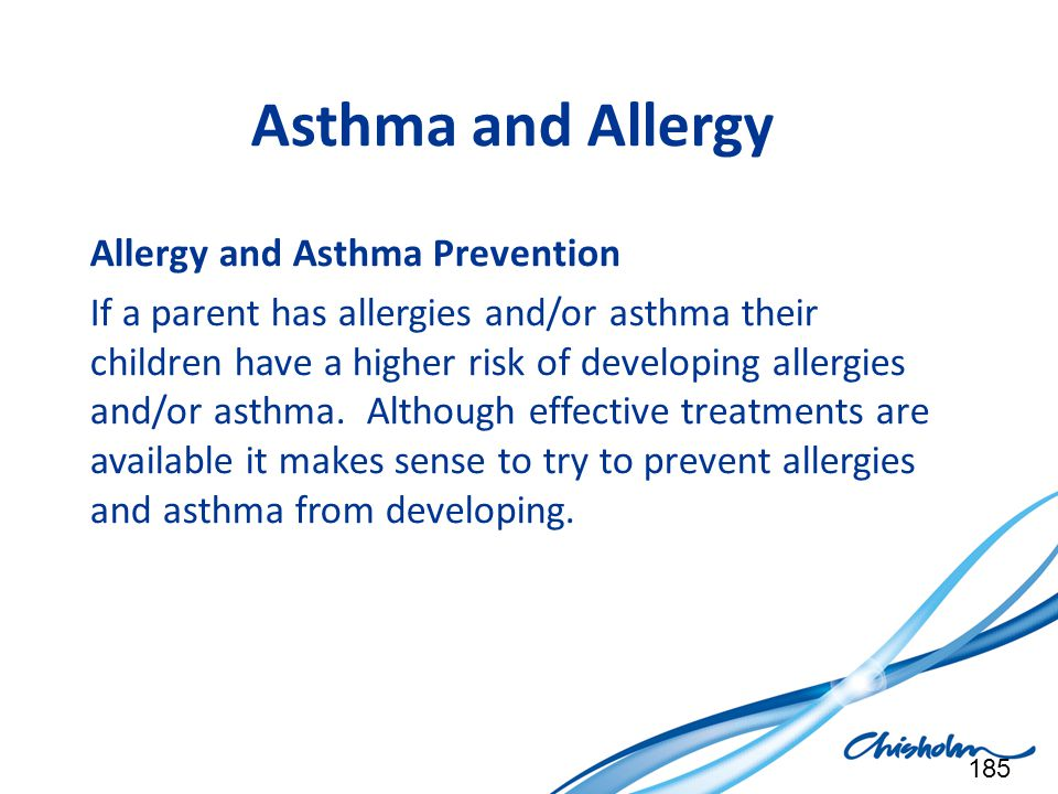 Asthma and Allergy Allergy and Asthma Prevention