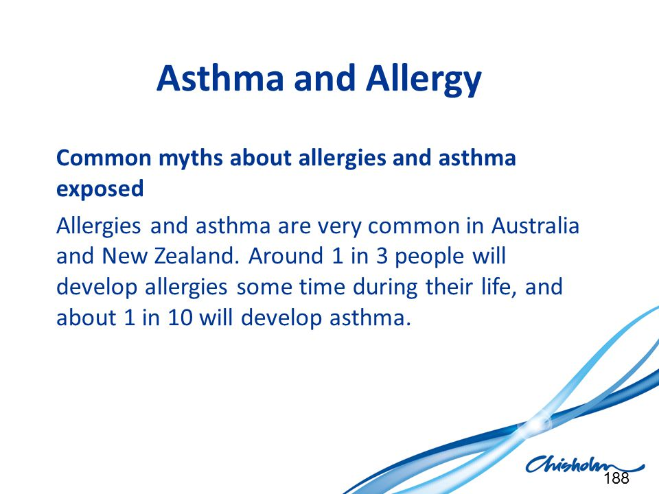 Asthma and Allergy Common myths about allergies and asthma exposed