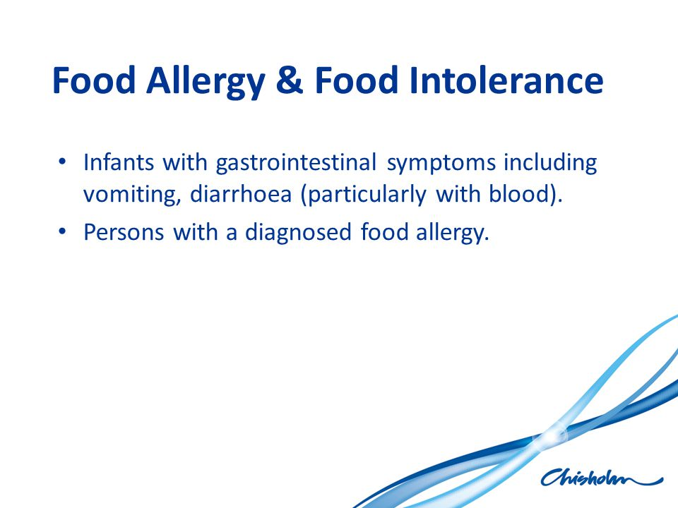 Food Allergy & Food Intolerance