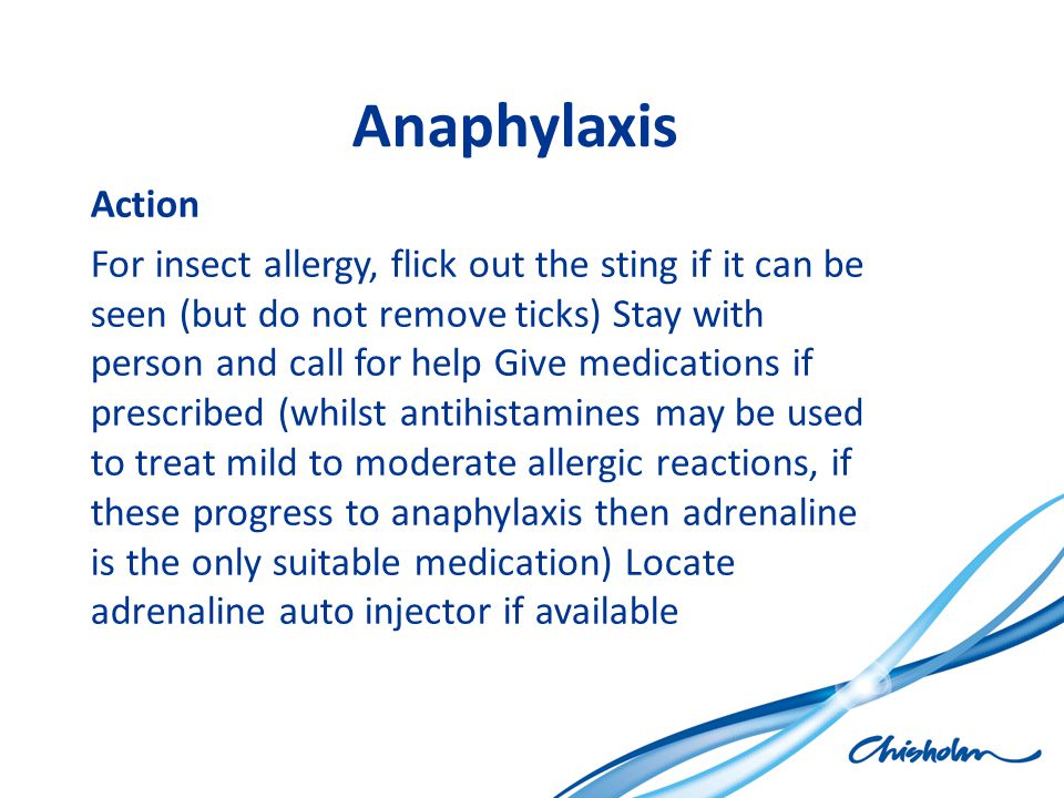 Anaphylaxis Action.