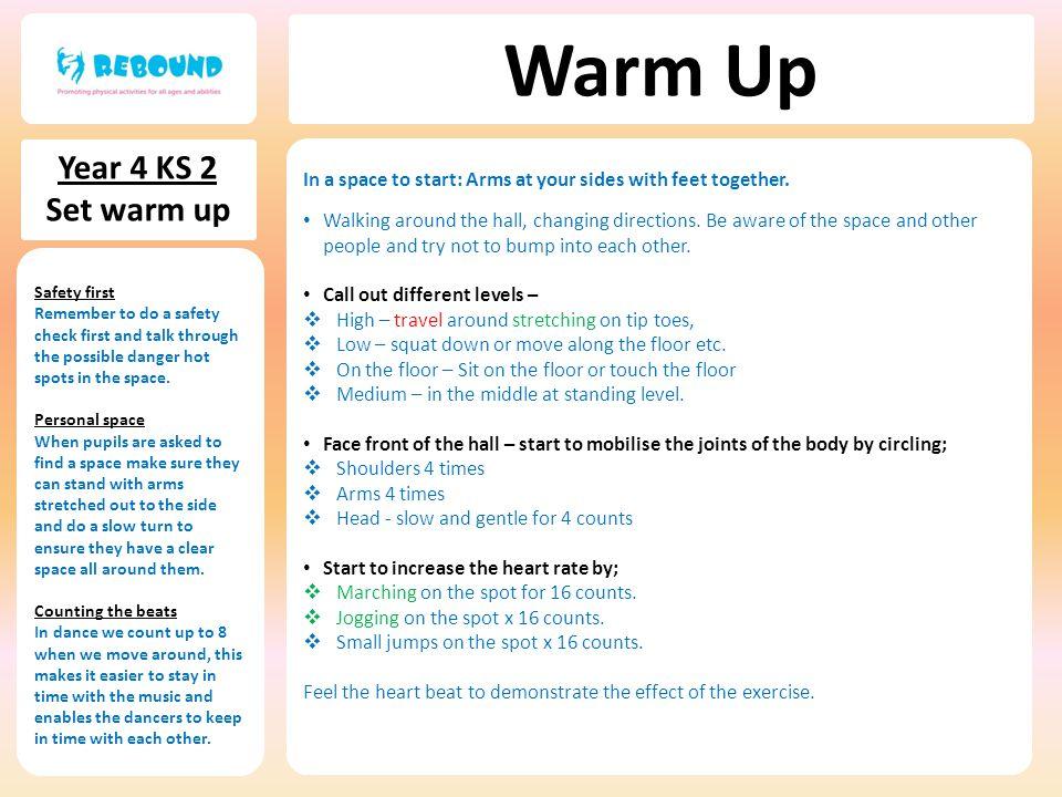 Warm Up Year 4 KS 2 Set warm up