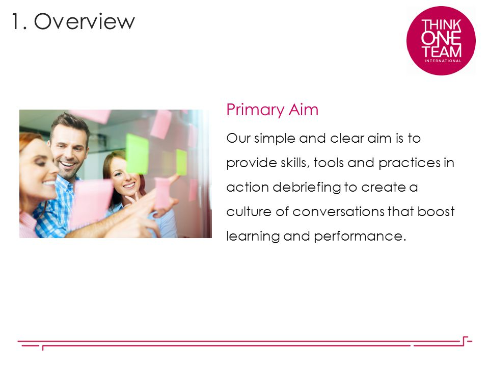 1. Overview Primary Aim.
