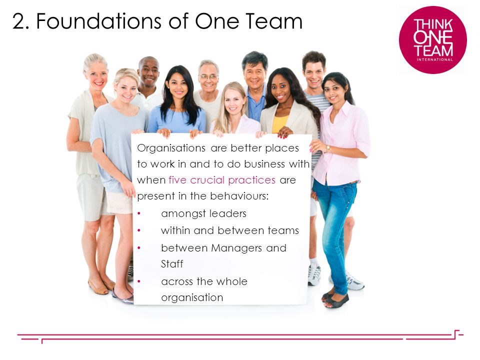 2. Foundations of One Team