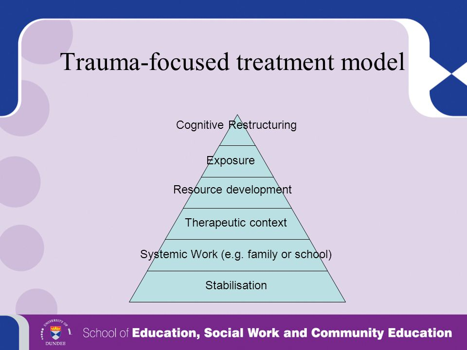 Trauma-focused treatment model