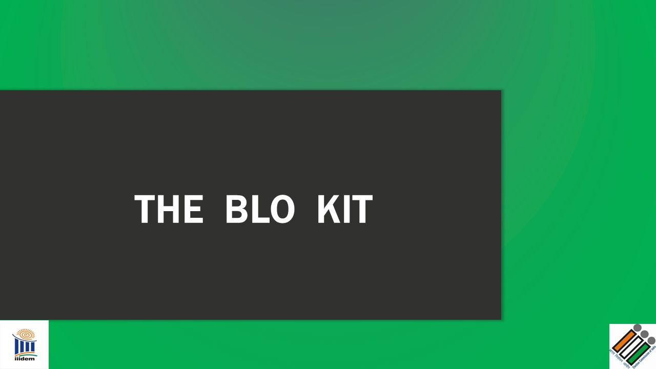 THE BLO KIT
