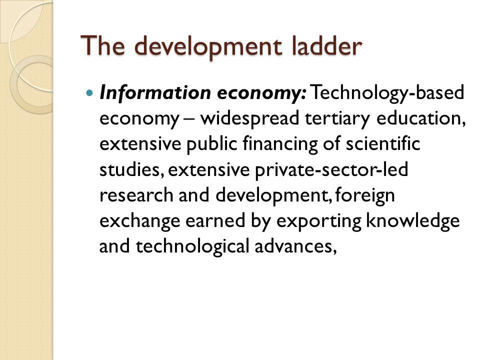 The development ladder