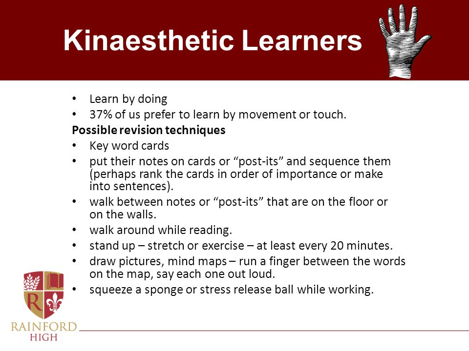 Kinaesthetic Learners
