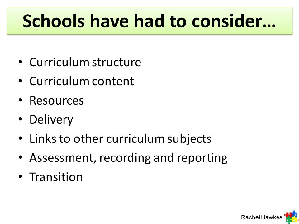 Schools have had to consider…