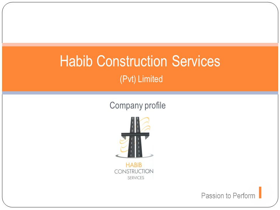 Habib Construction Services (Pvt) Limited