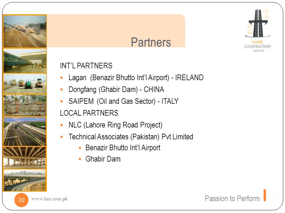 Partners INT'L PARTNERS Lagan (Benazir Bhutto Int'l Airport) - IRELAND