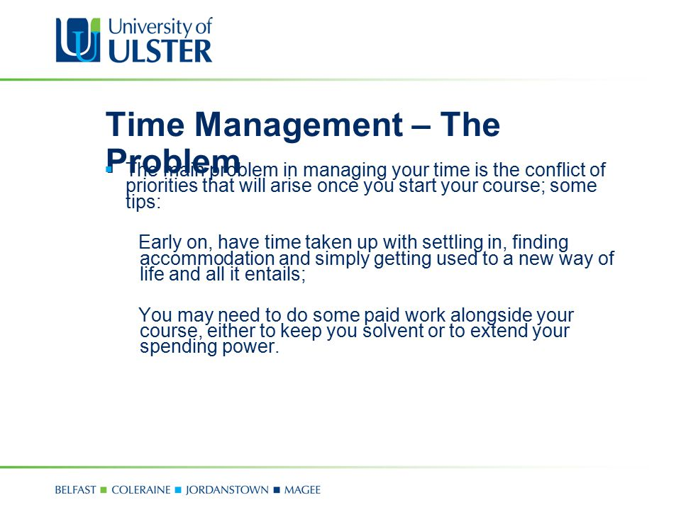 Time Management – The Problem