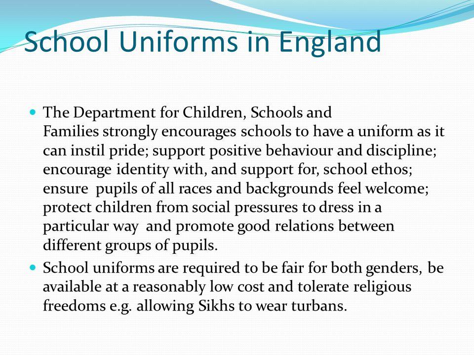 School Uniforms in England