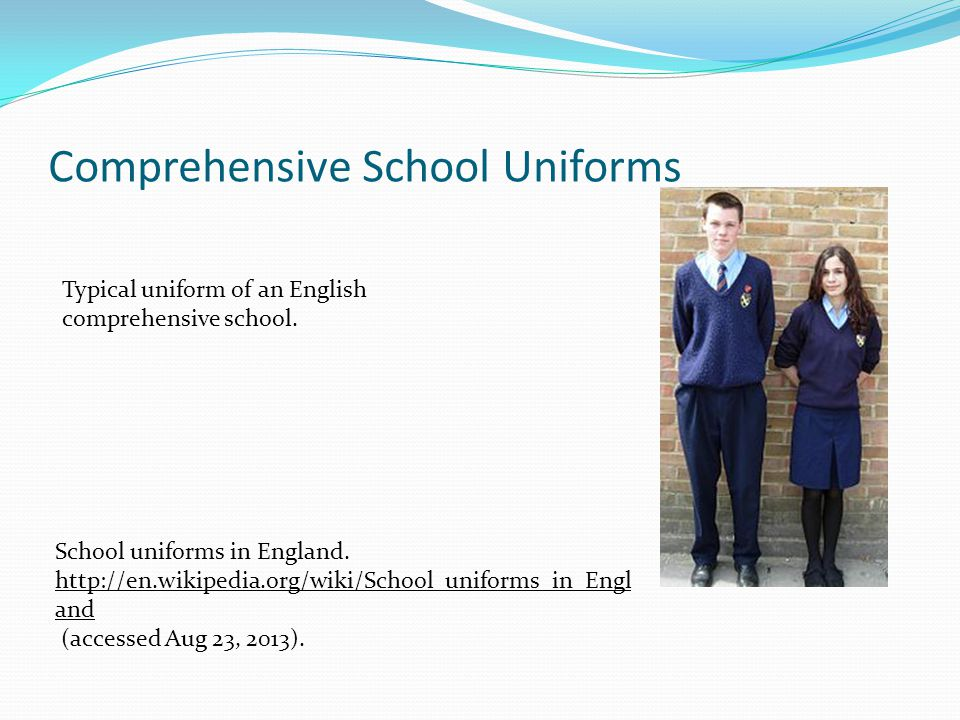 Comprehensive School Uniforms