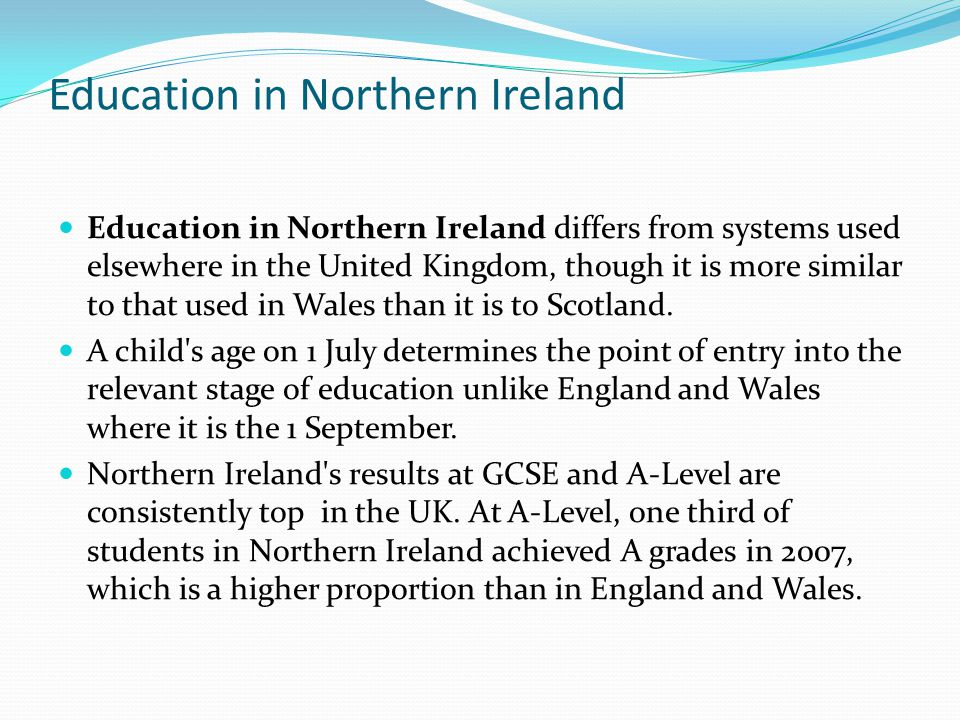 Education in Northern Ireland