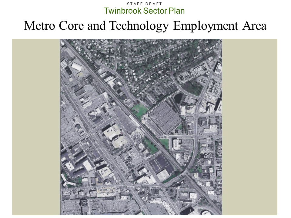 Metro Core and Technology Employment Area