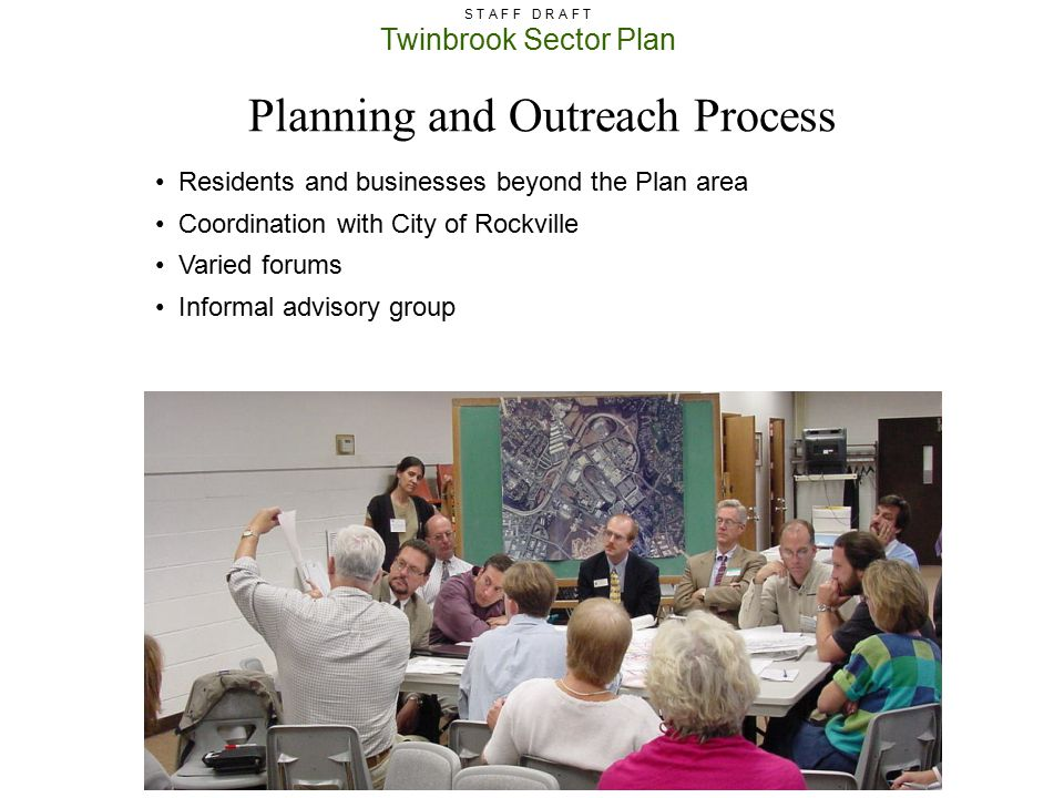 Planning and Outreach Process