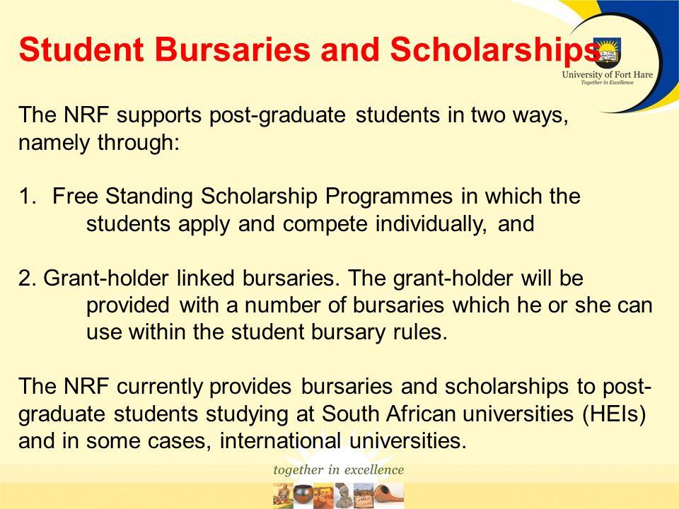 Student Bursaries and Scholarships