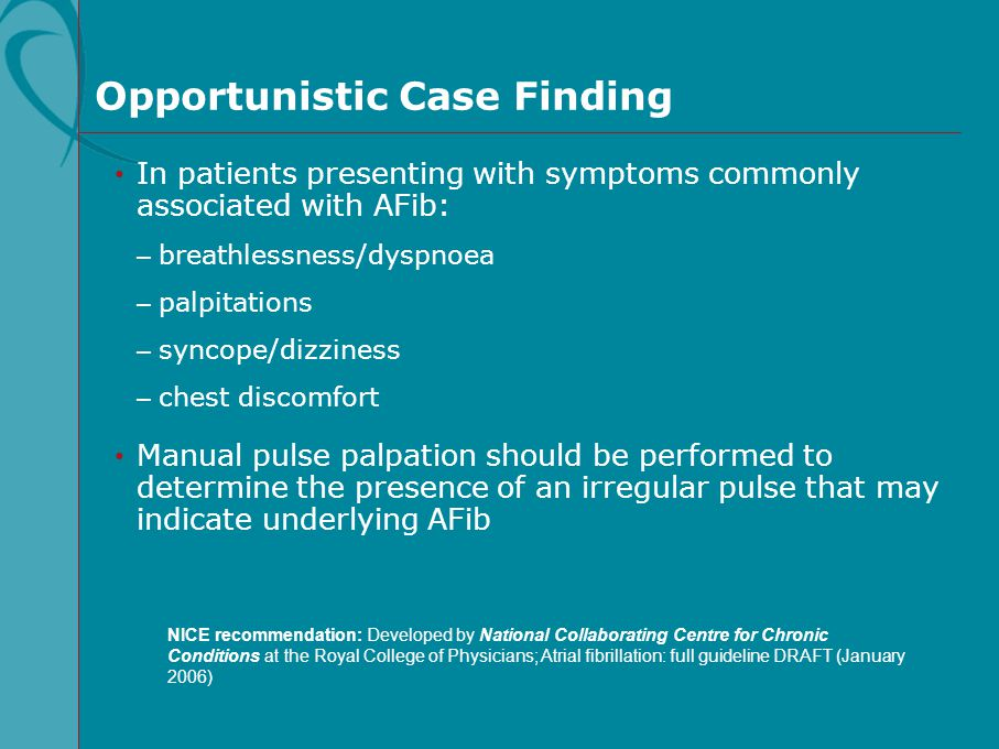 Opportunistic Case Finding
