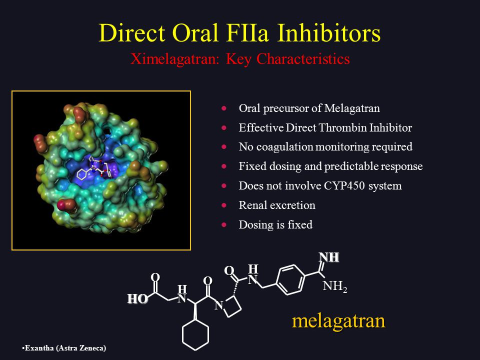 Direct Oral FIIa Inhibitors