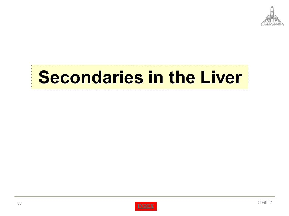 Secondaries in the Liver